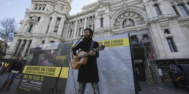 Sesenta ciudades españolas se movilizan en favor de la acogida de