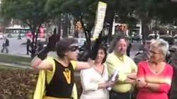 Cuando Colau boicoteaba mítines en las municipales