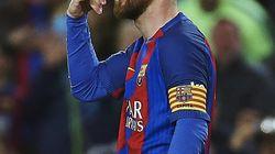 Esta foto de Messi ha dado mucho juego en