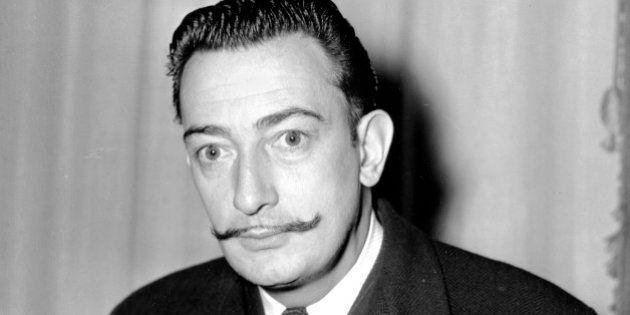 Surrealist painter, Salvador Dali is seen in New York on Nov. 4, 1942. (AP