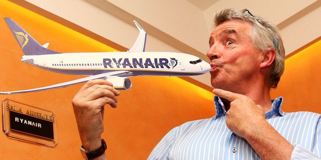 Michael O'Leary, CEO de