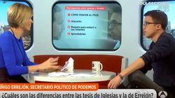 La entrevista de Errejón en 'Espejo Público' que enfadó a