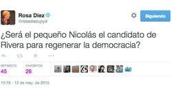 Y va el 'pequeño Nicolás'... y responde a este tuit de Rosa