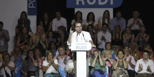 Aznar se estrena en campaña:
