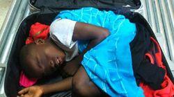 El padre del niño en la maleta se enfrenta a entre cuatro y ocho años de