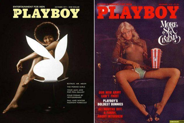 En sendas portadas de Playboy, Darine Stern y Patricia Margot