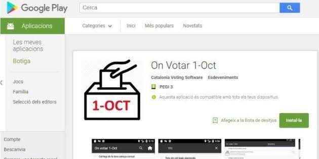Puigdemont y Junqueras anuncian una 'app' y un Twitter para saber dónde