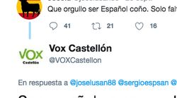 Risas en Twitter por la regañina de VOX a un seguidor demasiado