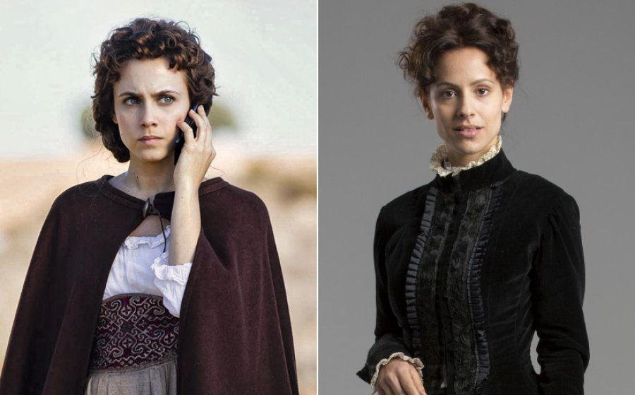 Amelia Folch (Aura Garrido) es Amélia Carvalho (Mariana