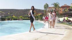 La caída de una miss en el concurso de Miss España que se ha vuelto