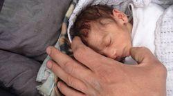 Sobrevivir en Yarmouk: el bebé de dos meses que sólo pesa un