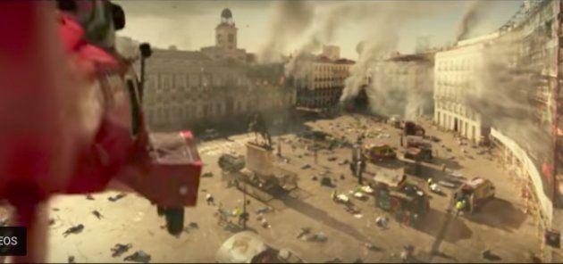 Hollywood 'se carga' la Puerta del Sol en la película