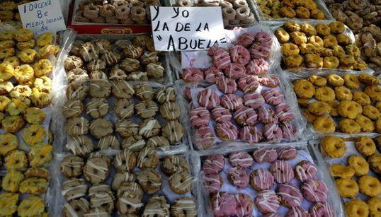 Las rosquillas de San Isidro, el aniversario del 15M y otras fotos del