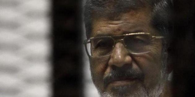 El ex presidente egipcio Mursi, condenado a muerte por huir de la cárcel en