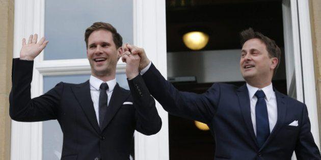 El primer ministro de Luxemburgo se casa con un arquitecto