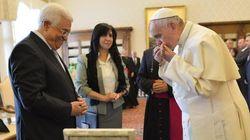 El Papa al presidente palestino Abbas: