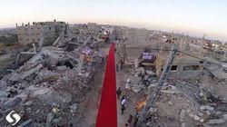 Gaza estrena alfombra roja para su festival de cine y derechos