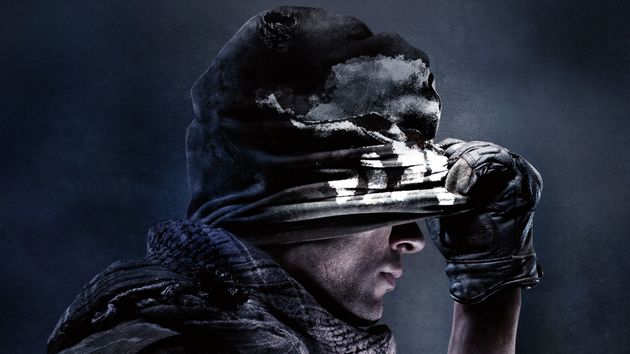Arte da capa do jogo Call of Duty: Ghosts