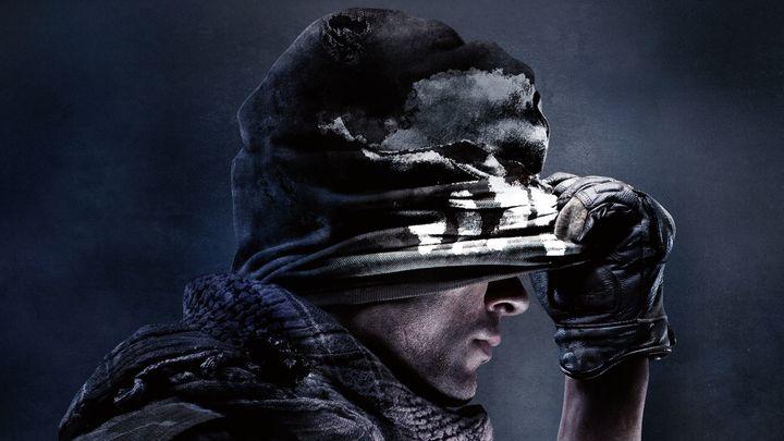 Arte da capa do jogo <i>Call of Duty: Ghosts </i>(2013).