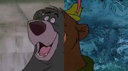 Las escenas de Disney no se parecen, son las mismas