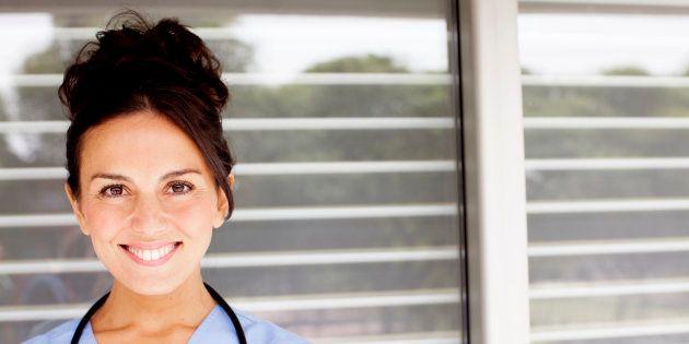 Confident Female Medical