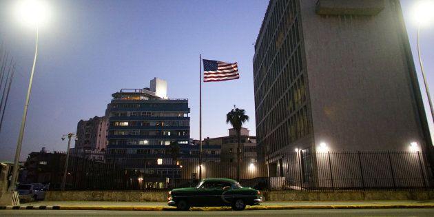 Imagen de archivo de la embajada de EEUU en La