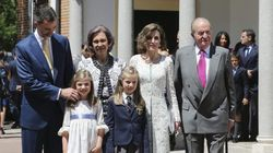 La Familia Real reaparece al completo en la comunión de Leonor