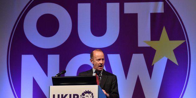 El nuevo líder del eurófobo UKIP, Henry