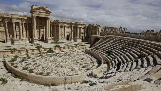 Así es el impresionante patrimonio de Palmira que está en peligro