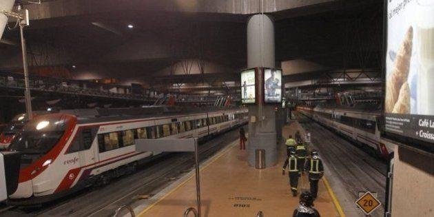 Una avería en el control ferroviario paraliza las líneas de Cercanías y Regionales de