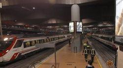 Una avería paraliza todos los trenes de Cercanías en