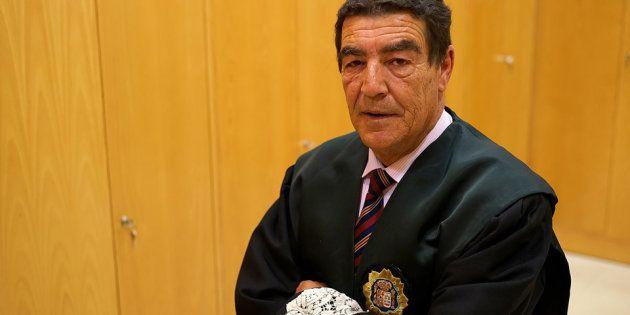 El juez de Menores de Granada Emilio Calatayud, en una imagen de
