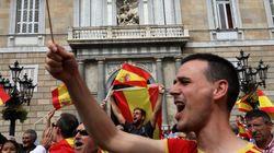 Centenares de personas se manifiestan en Barcelona contra el