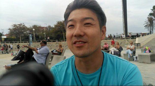 Un turista japonés en la