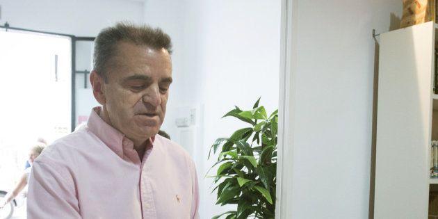 José Manuel Franco, durante la