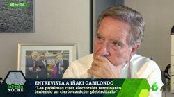 Iñaki Gabilondo define con una sola palabra a los que insultan a