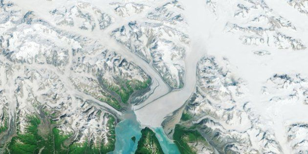 Un glaciar que va al revés y otras fotos que nos deja el