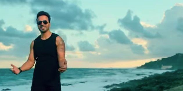Luis Fonsi en el videoclip de