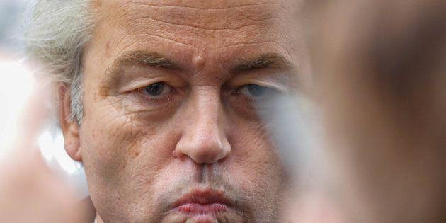 Imagen de archivo de Geert Wilders, candidato de la extrema derecha en
