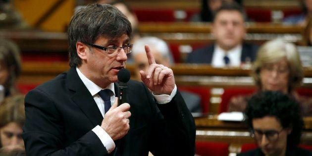 El polémico tuit de Puigdemont sobre la remontada del Barça y el futuro de