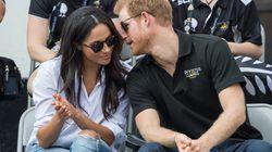 El beso del príncipe Harry y Meghan Markle, en la clausura de los Juegos