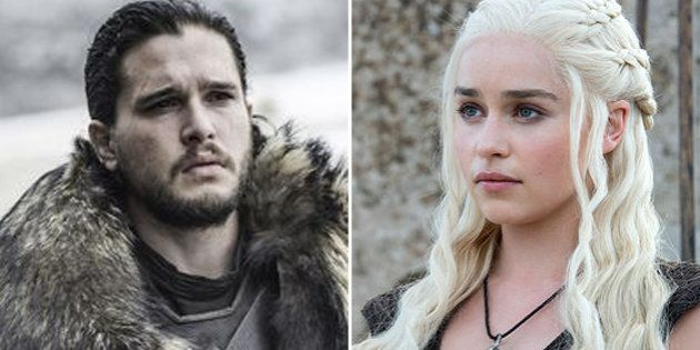 Jon Nieve y Daenerys Targaryen, dos de los protagonistas de la