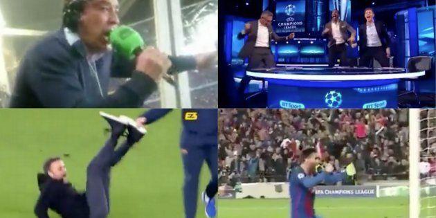 Las seis celebraciones del gol de Sergi Roberto que te pondrán la piel de