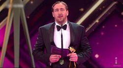Premian a un falso Ryan Gosling en unos premios de cine