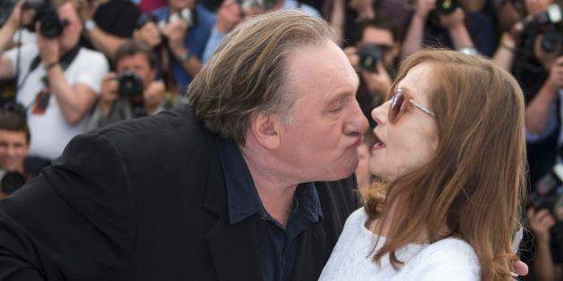 La actriz que le hace 'la cobra' a Gerard Depardieu y siete fotos más para acabar la