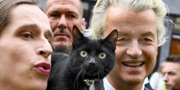 Imagen de archivo del líder de extrema derecha Geert