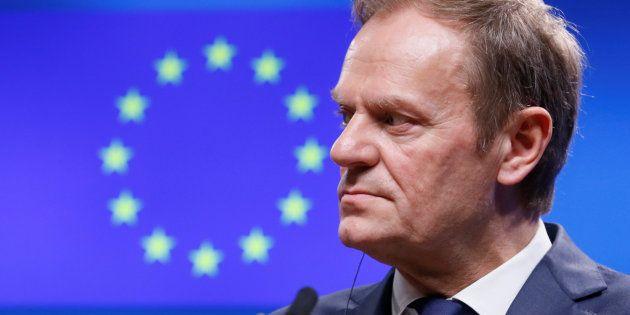 Imagen de archivo del presidente del Consejo Europeo, Donald