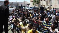 Libia intercepta un barco con 600 inmigrantes