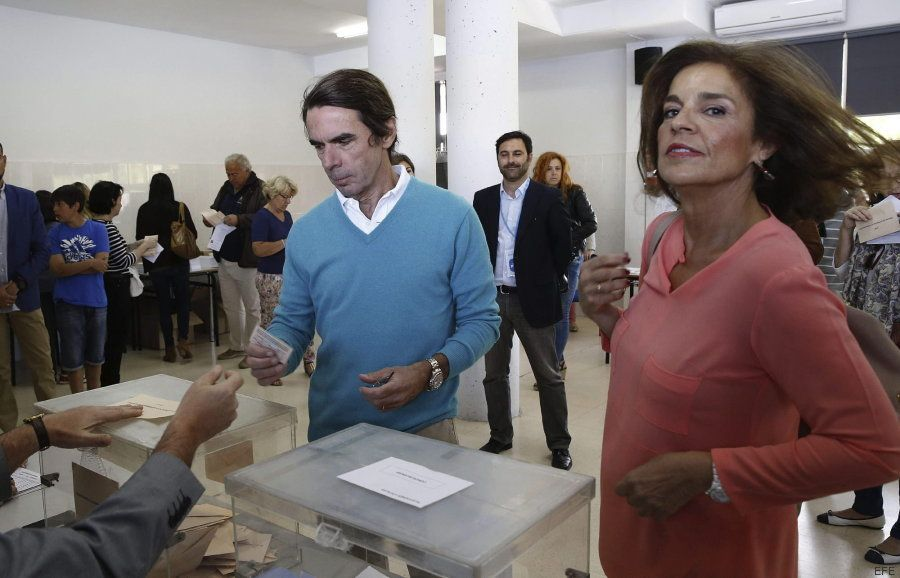 La coleta de Aznar y el Pecas de