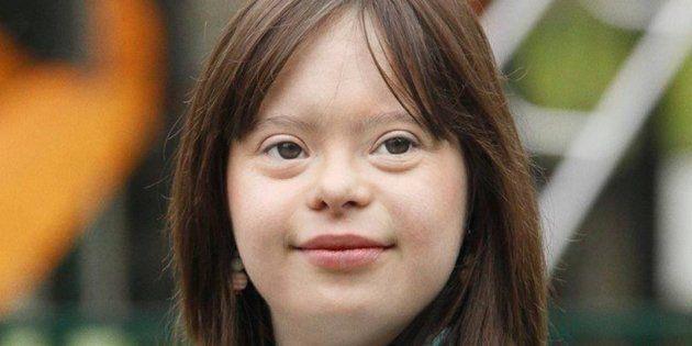 Una joven con síndrome de Down dará el tiempo en una TV